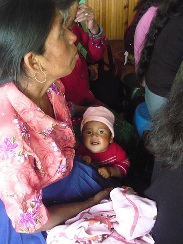Salud infantil en Guatemala