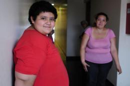 UN CAMBIO. Rodrigo decidió, por iniciativa propia, pedir ayuda para iniciar un tratamiento con especialistas de la fundación Funcea; ya bajó tres kilos.  LA GACETA / FOTO DE ANALíA JARAMILLO