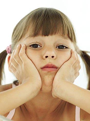 Postura negativa de los niños